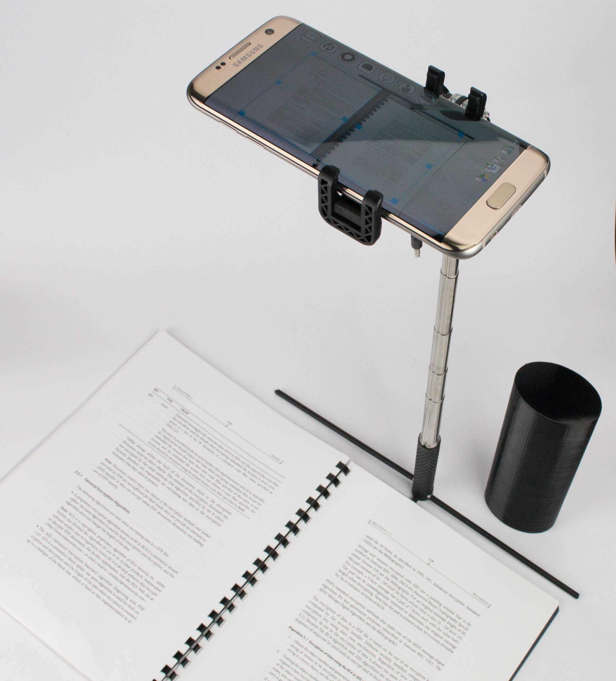 Skanstick Pro – smart mini scanner with AR & Bluetooth remote control and case