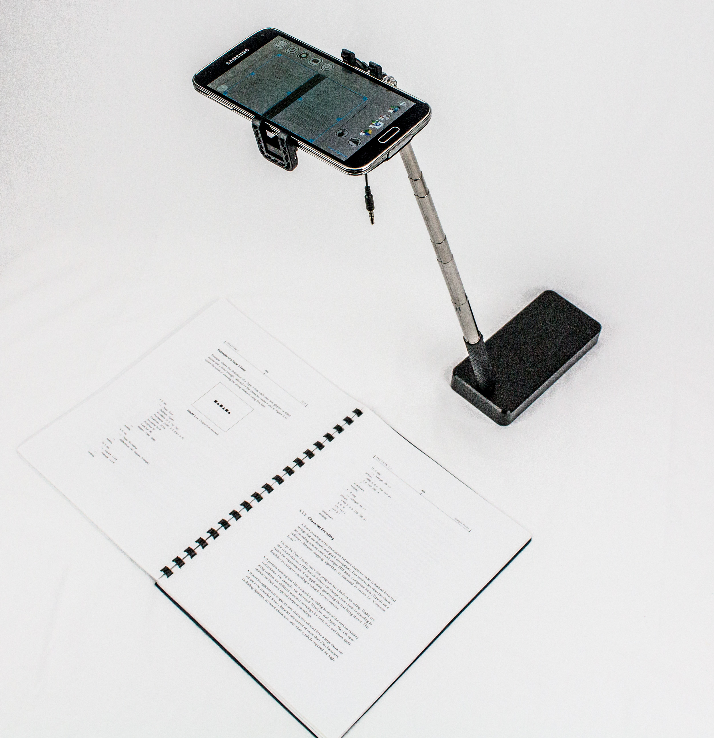SKANSTICK DS – smart mini scanner with AR & Bluetooth remote control