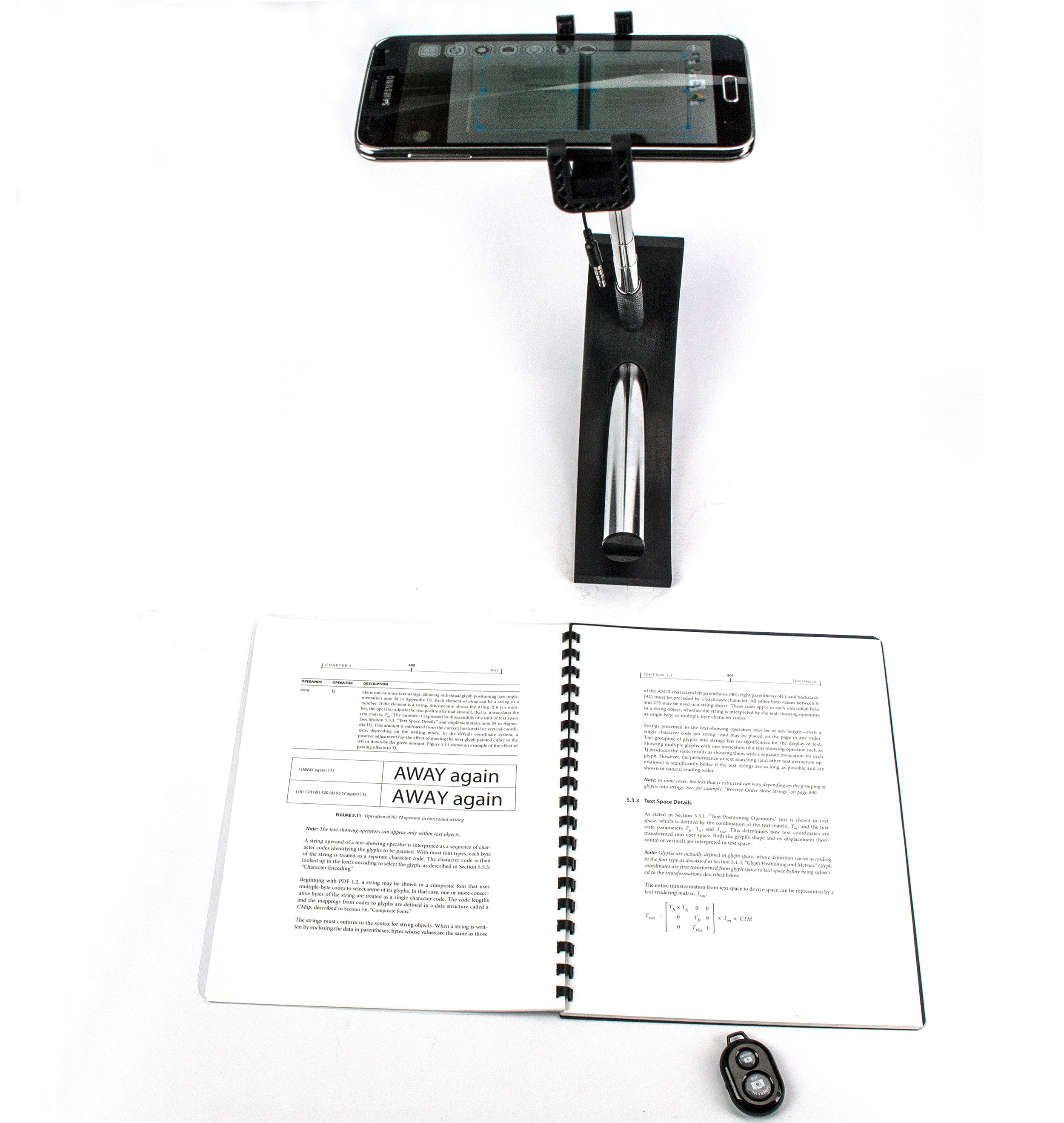SKANSTICK DSA – smart mini scanner with AR & Bluetooth remote control