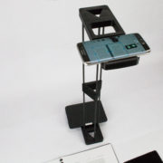 Skanstick D with Kindle as a counterbalance