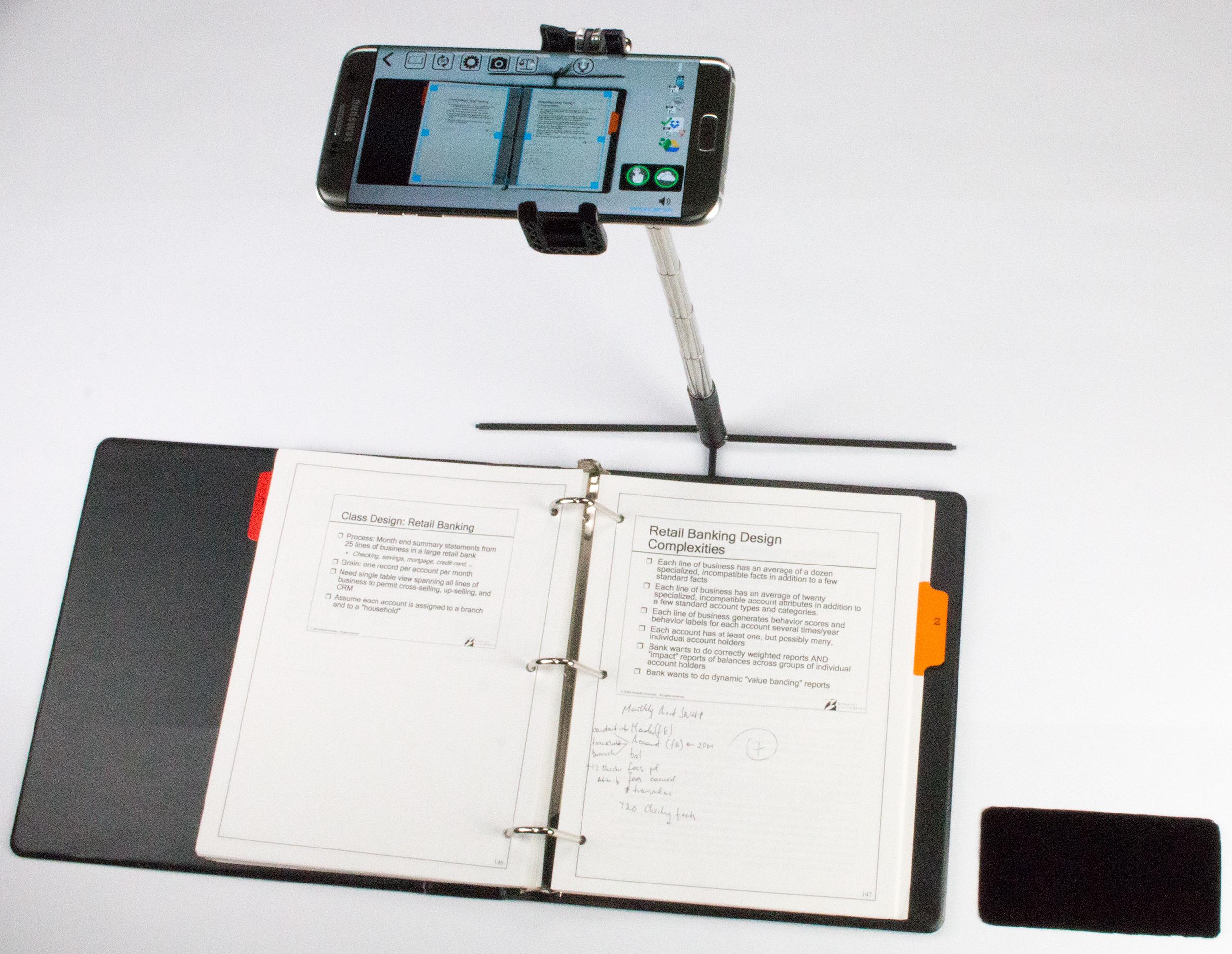 SKANSTICK TB – smart mini scanner with EVA travel case